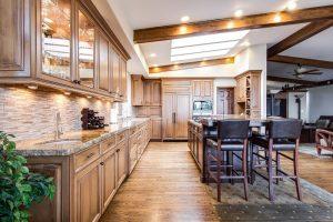 Kuchyne s ostrovčekom ponúkajú veľkorysý priestor