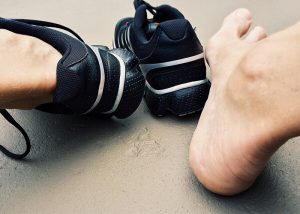 Workout na fitness trampolíně